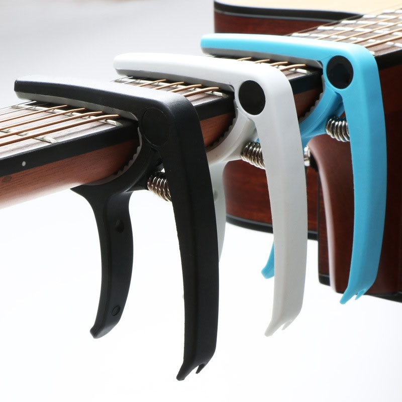 Guitar Capo Electric Guitar Tuning Clamp Musical Instrument Capo for Acoustic Classic Guitar Ukulele Bass Guitar Accessories