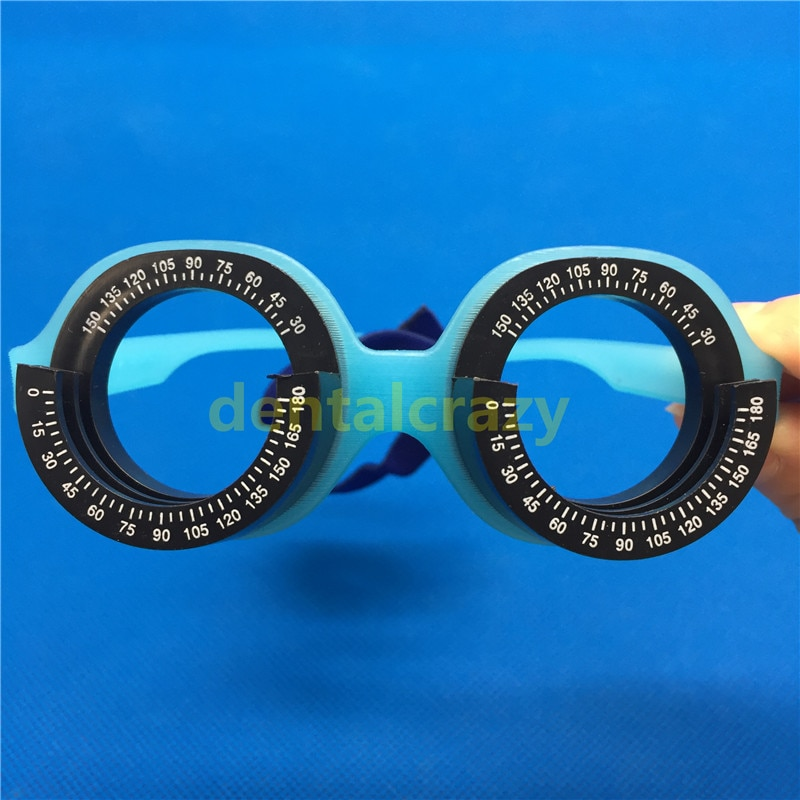 2 Types Optometric optical 48mm/56mm trial frame for kids Children optical instruments