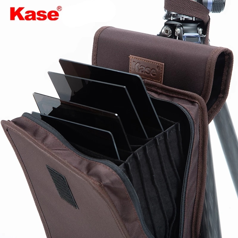 Kase 150mm Series Canvas Filter Storage Bag Protector Pouch for 150mm / 170mm Series Square Insert Filters