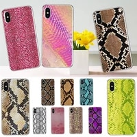 snake skin phone case for iphone 11 12 mini pro xs max 8 7 6 6s plus x 5s se 2020 xr