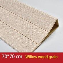 Altholz Distressed Holz Panel Holzmaserung Selbst-Klebe Schälen-Stick Tapete