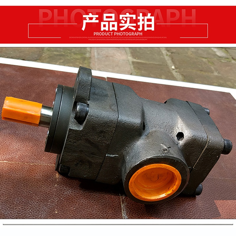 YYB-AA YYB-AA series medium and high pressure vane pump Yuci double pump vane pump flange-mounted electric vane pump enlarge