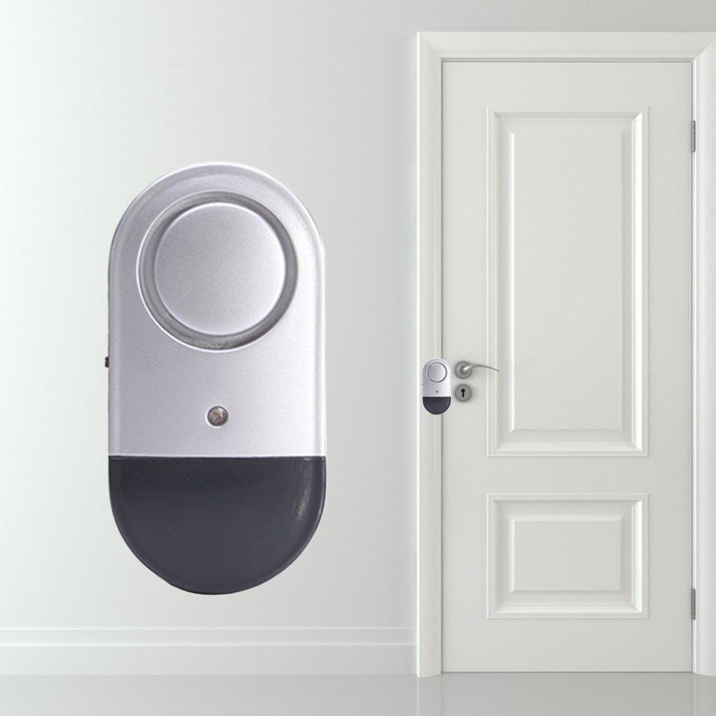 Independent Door Sensor Burglar Alarm Magnetic Gap Window Alarm Detector Security Protection Wireles