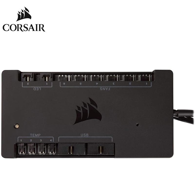 CORSAIR iCUE Commander PRO-إضاءة RGB ذكية وجهاز تحكم في سرعة المروحة