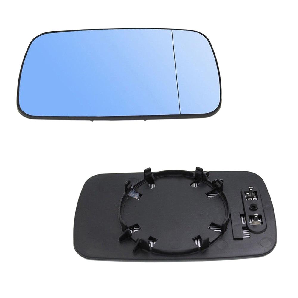 2pcs/set Left/Right Side Mirror Glass Fit For BMW E39E46 320i 330i 325i 525i Car Rear View Mirror Glass