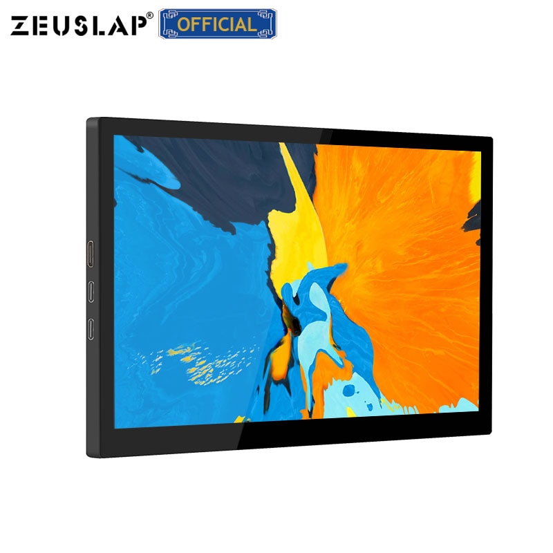 zeuslap 8.9inch ips capacitive touch screen usb c hdmi-compatible portable touch screen for Samsung Dex Huawei EMUI SWITCH