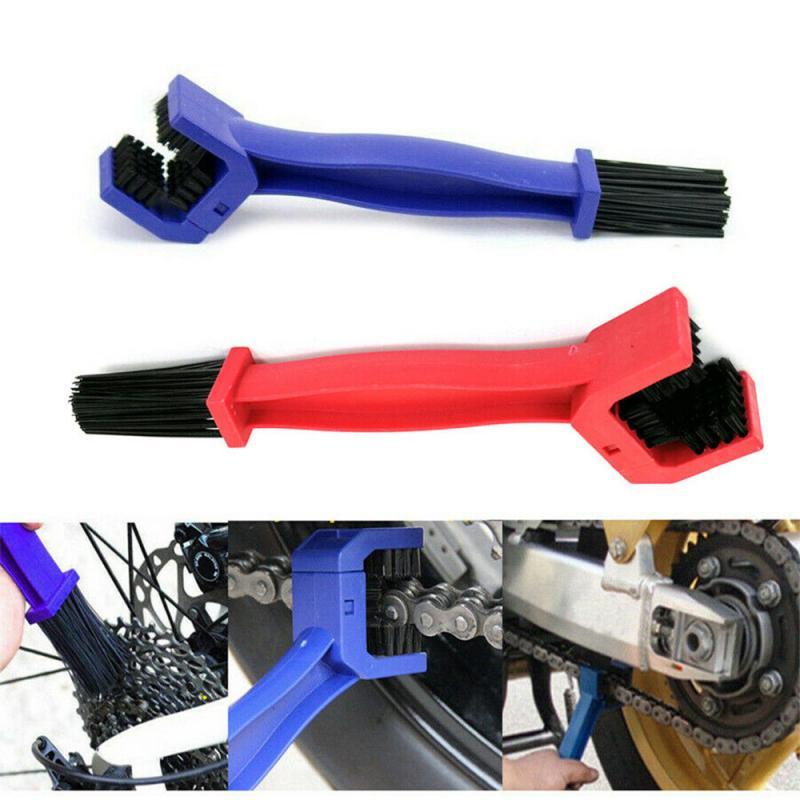 Acessórios do carro Cuidados De Limpeza De Pneus Aro Da Motocicleta Bicicleta Cadeia Engrenagem Universal Manutenção Ferramenta de Escova de Limpeza Da Sujeira Limpa TXTB1