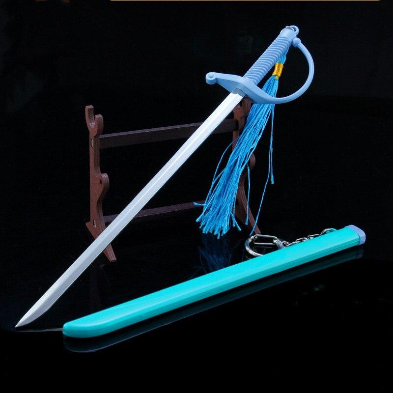 Подставка из сплава для кубиков меча, реквизит, демонстрационное оружие, оружие убийца из сплава, вокруг капитана Джека, модель оружия, Волш...