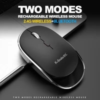 bm800 wireless bluetooth compatible mouse 5 1bt2 4g dual mode private mode mute and mute charging notebook mouse