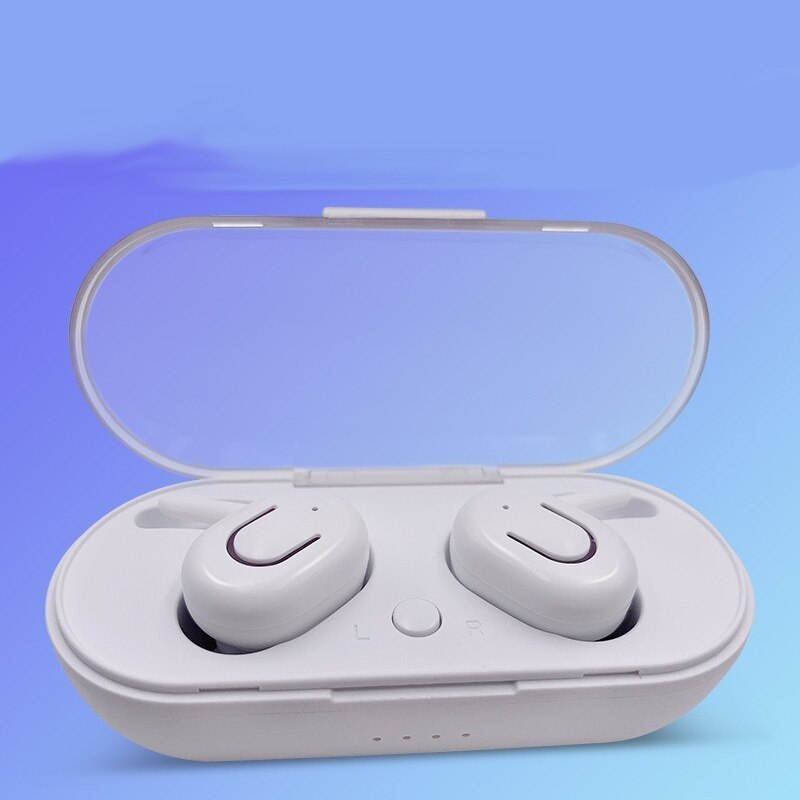 Auriculares inalámbricos Bluetooth V5.0 3D estéreo Auriculares deportivos inalámbricos con micrófono Dual