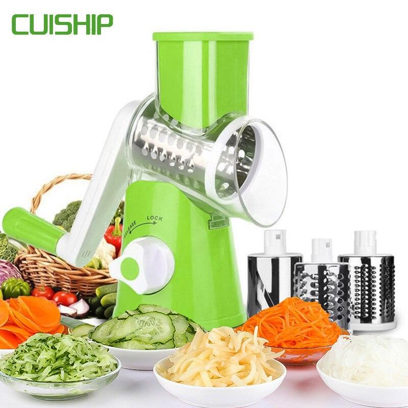 De múltiples funciones vegetal cortador de mandolina Slicer cortador de frutas zanahoria cortadora de queso de pelador utensilios de cocina vegetal rallador