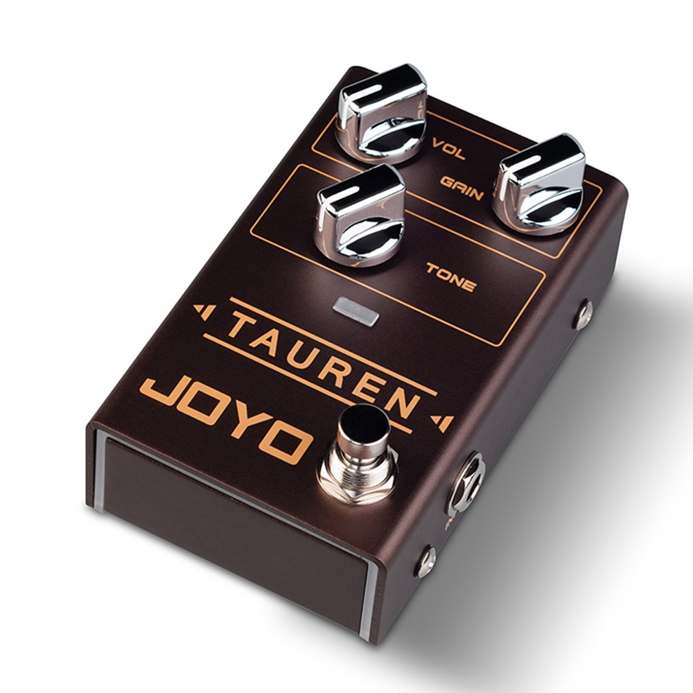 JOYO R-01 Tauren Overdrive Pedal Effect High Gain Pedal Effect for Electric Guitar Overload Pedal Guitar Parts & Accessories enlarge