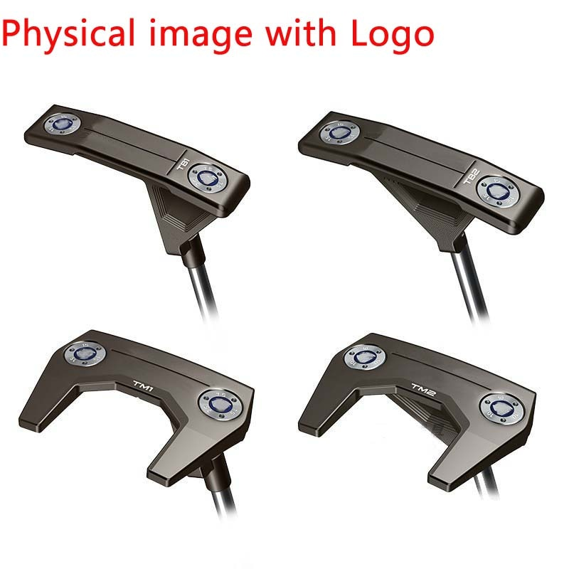 Truss Straight Bar Putter Hose Design PT Male and Female Putte Golf Club with Logo