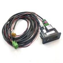 READXT pour Golf 7 MK7 CarPlay USB   Interrupteur AUX, adaptateur MDI AMI, prise, connecteur dinterface, câble de harnais, prise de fil, accessoires Auto