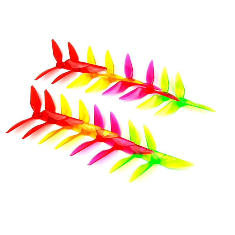 2Pairs 5051 5X5.1X3 3-Blade PC Propeller for RC FPV Racing Freestyle 5inch 5.1inch Drones Replacemen