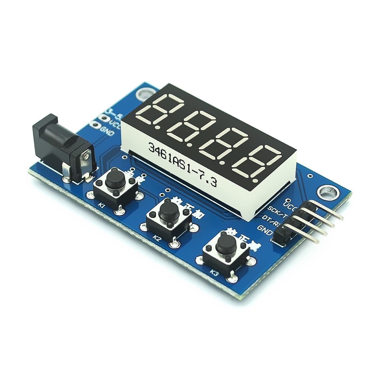 Датчик веса HX711 AD, электронный модуль с цифровым дисплеем