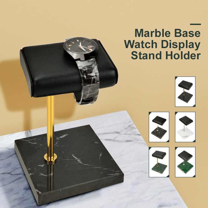 Luxury Jewelry Stand Bracelets Bangles Watch Display Stand Holder Marble Base