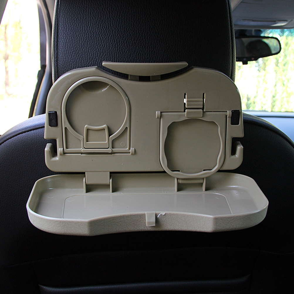 1 шт. автомобильный поднос для еды, складной обеденный стол, держатель для напитков, автомобильный поддон, заднее сиденье, автомобильный под...