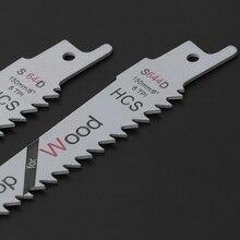 2 pces 6 lâminas reciprocating saw sharp s644d extra sabre poda para a segurança de madeira