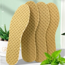 5 Pairs Deodorant Insoles Light Weight Shoes Pad Absorb-Sweat Breathable Bamboo Charcoal thin Sports
