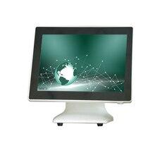 Système de position pour supermarché blanc écran tactile POS terminal 15 pouces POS machine usine ventes point de vente caisse enregistreuse