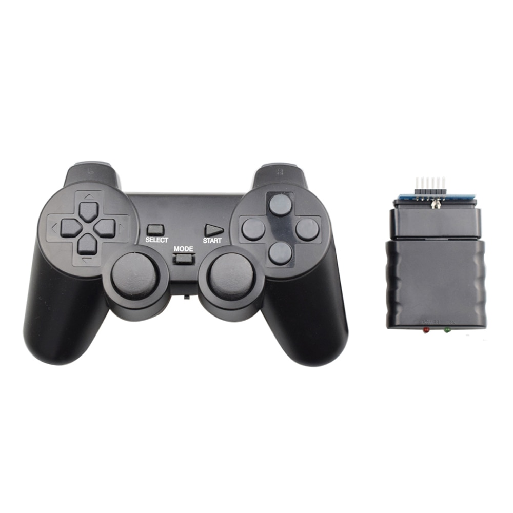 Wireless Gamepad for Arduino PS2 Handle Controller for Playstation 2 Console Joystick Double Vibration Shock Joypad Raspberry Pi