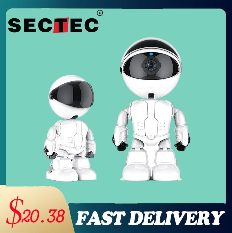 SECTEC-كاميرا IP Wifi 2MP YCC365 ، جهاز أمان منزلي ذكي ، رؤية ليلية ، مراقبة الطفل ، كاميرا CCTV للهواتف الذكية IOS و Android