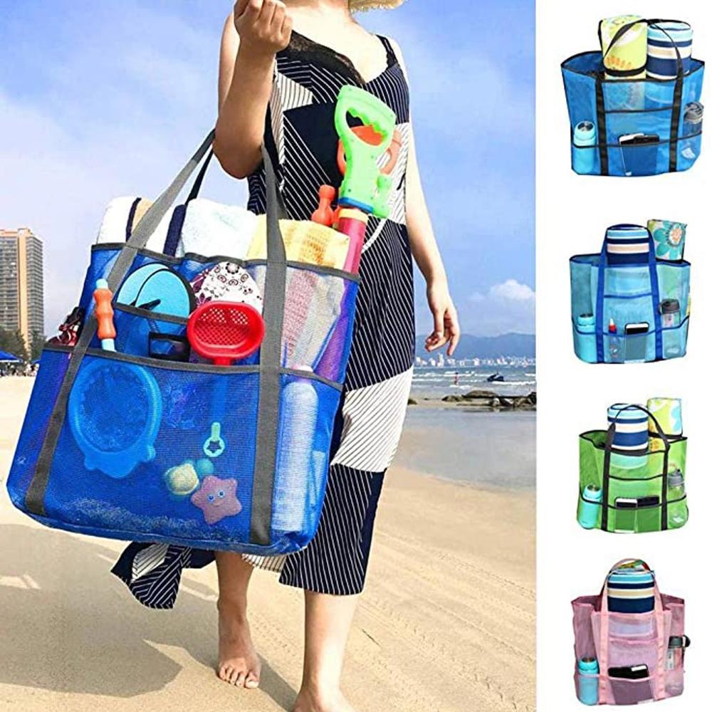 Toallitas de fruta para viaje y acampada, neceser para playa, toallitas de viaje, bolsas de compra para el verano