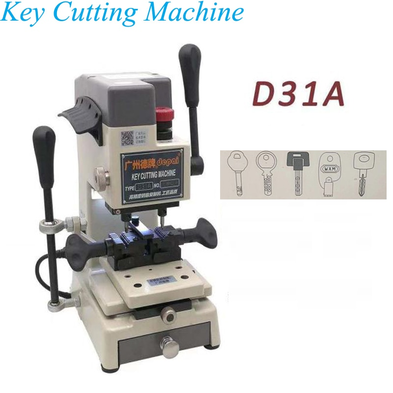 Key Cutting Machine 220V Vertical Key Duplicating Machine Making Keys Locksmith Supplies D31A