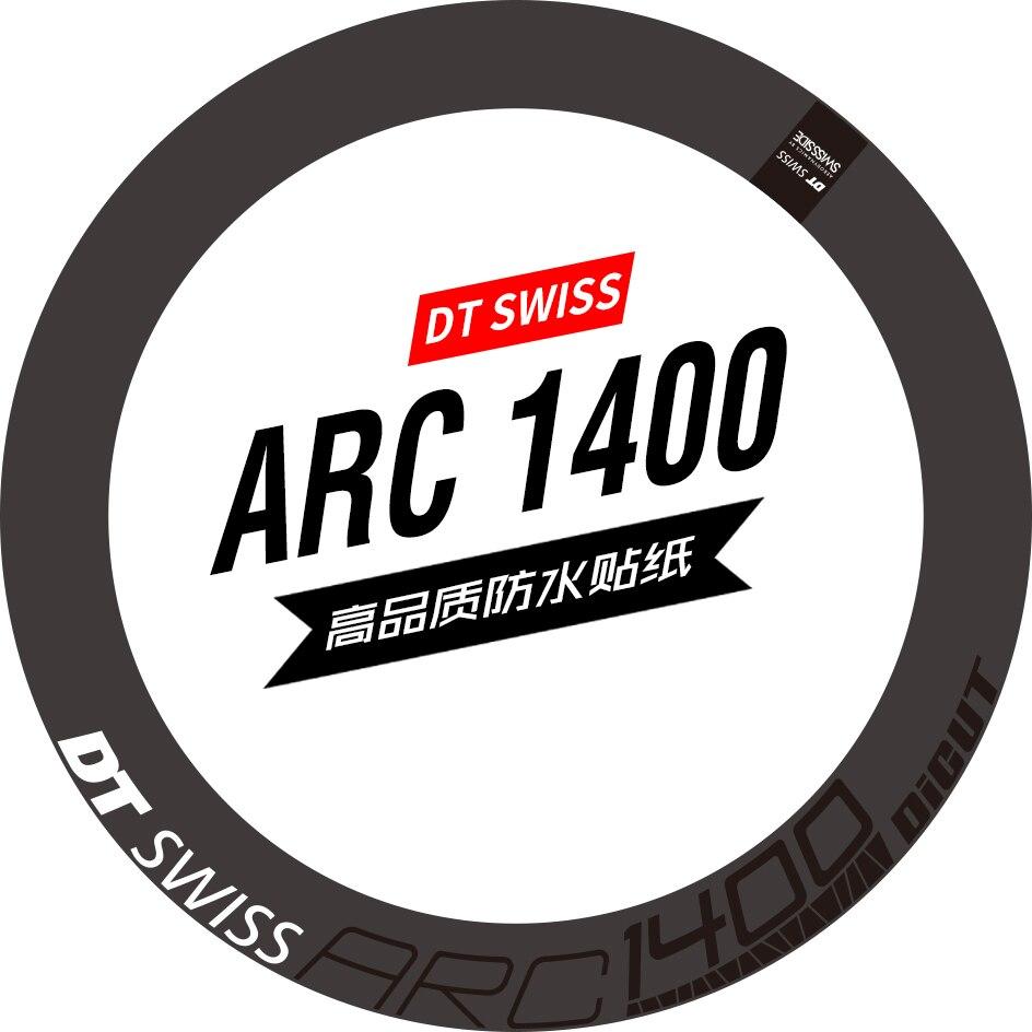 DT ARC 1400 Wheel Set Sticker Road Bike Carbon Knife Ring Wheel Color Change Sticker Bike Sticker Custom Waterproof