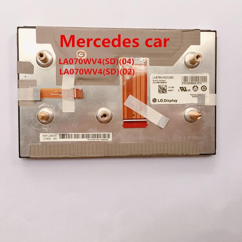 Neue LA070WV4SD04 LA070WV4-SD04 LA070WV4 (SD) (04) LG display LCD modul 7 zoll display für Mercedes car navigation audio system