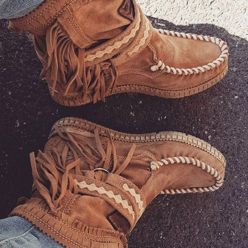 Moda botas de salto plano botas de salto plano botas femininas estilo cowboy bota feminina