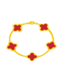1: 1 new fashion S925 women's bracelet, flower bracelet, agate shell bracelet, jewelry for girlfrien