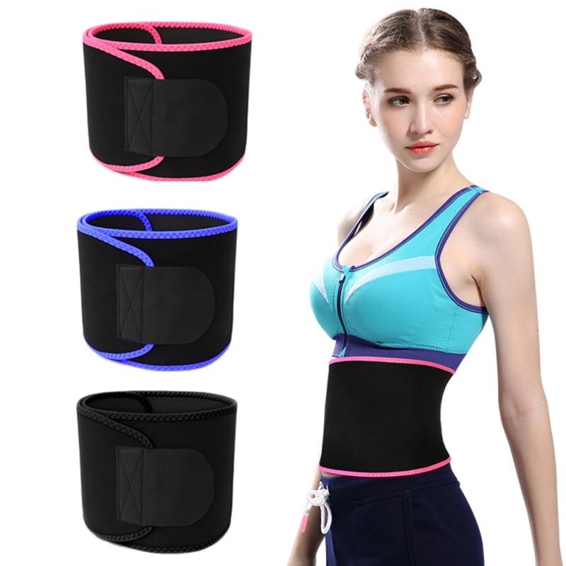 Cinturón recortador de cintura, banda para pérdida de peso, sudor, envoltura de grasa, barriga, estómago, Sauna, cinturón para el sudor, accesorios deportivos seguros