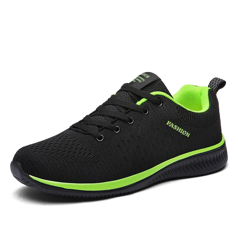 Breathable Men Running Shoes Lightweight Mesh Jogging Sneakers Non-slip Soft Outdoor Walking Sport Shoes 2020 spring leisure women sneakers breathable outdoor walking non slip jogging lightweight shoes fashion female sneakers