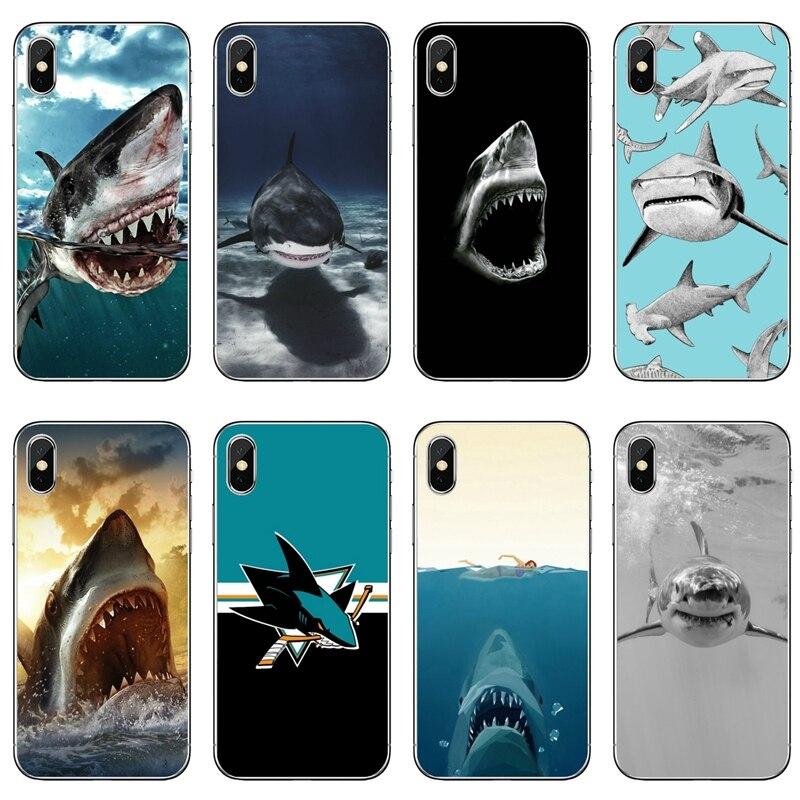 Animal de tiburón accesorios de la caja del teléfono para Huawei Honor 20 10i 9X 10 Lite 8S 8C 8X 7C 7X 7A 6C Pro 6X 6A 5C 5X