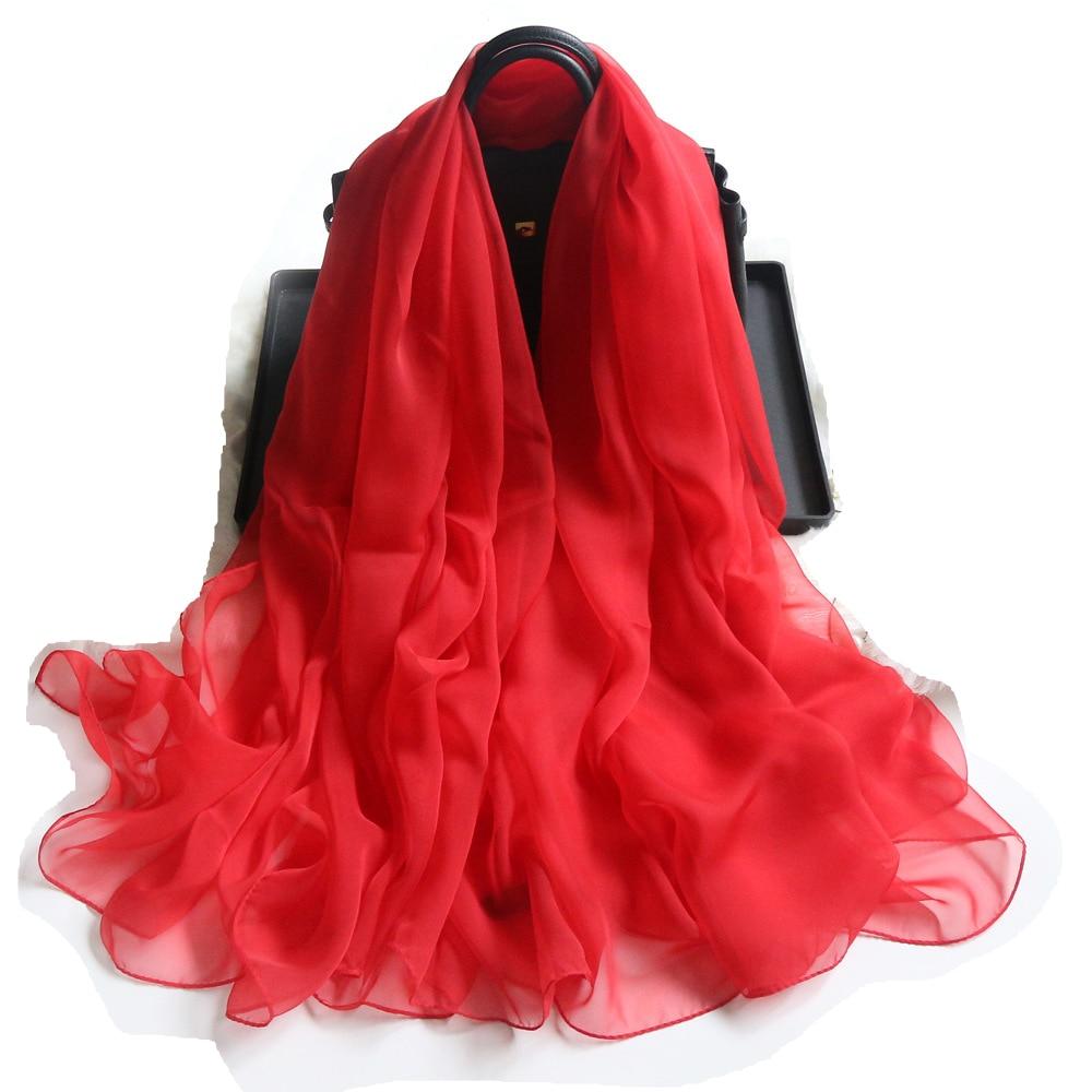Fashion Pure Color Chiffon Scarves Silk Scarf Women 180*140cm Large Long Soft Sunscreen Scarf Scarves Wrap Beach Shawl недорого