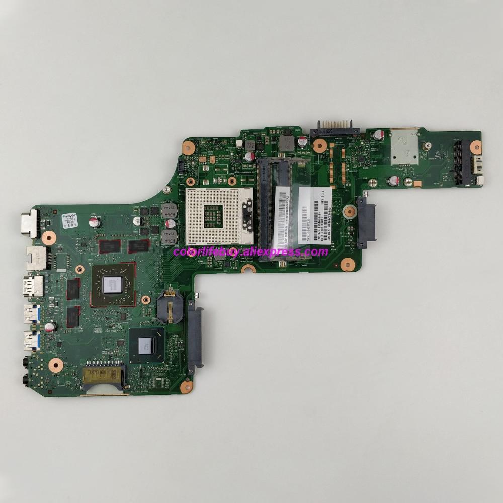 Genuino V000275120 6050A2491301-MB-A03 w HD7670M GPU HM76 placa base de Computadora Portátil para Toshiba Satellite L850 L855 Notebook PC