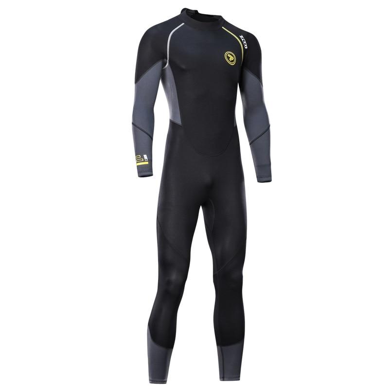 ZCCO 1.5MM neoprene Wetsuit men Scuba diving suit Surfing wear one piece set spearfishing Cold-proof Snorkeling winter swimsuit