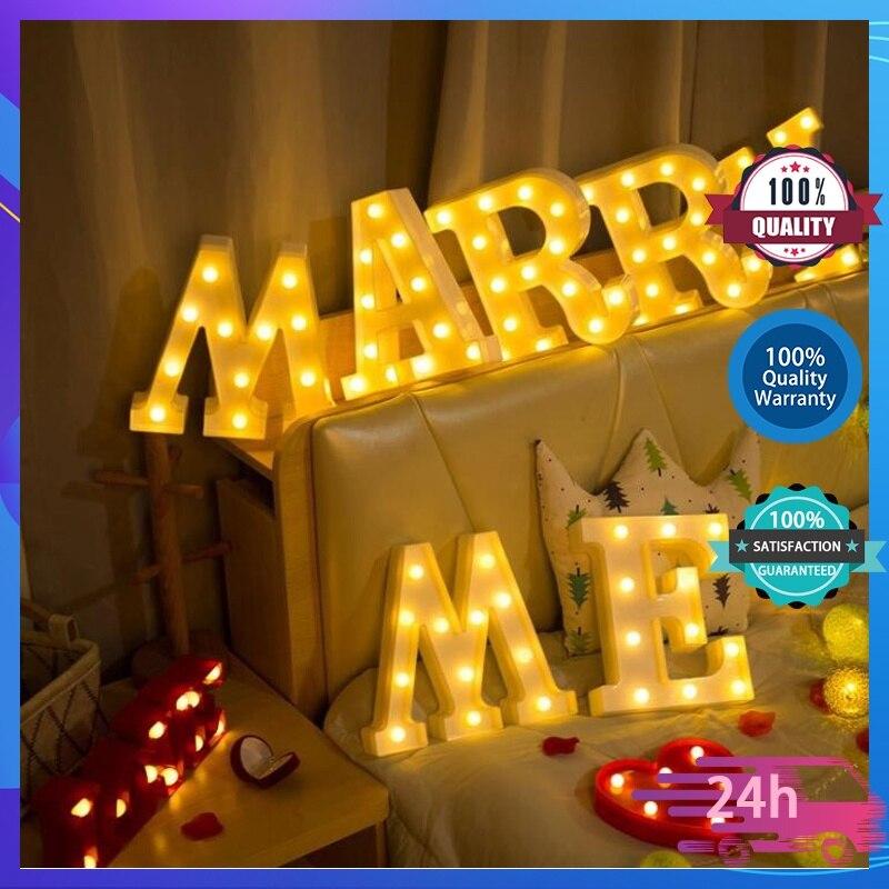Декор для дома, 0-9 цифр, символ, знак, пластиковые светодиодные огни, декор для рождества, свадьбы, вечеринки, подарок на день Святого Валенти...