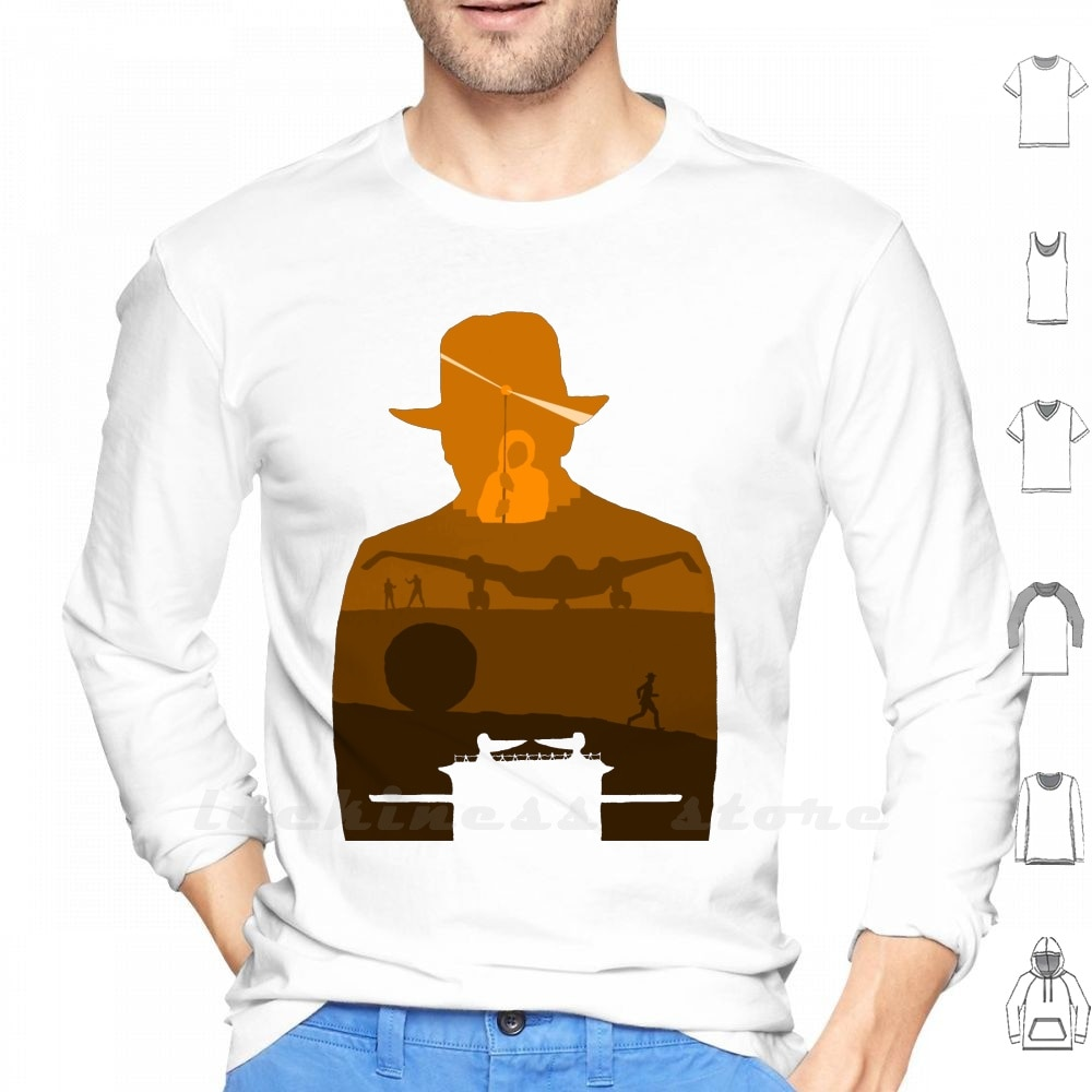 Raiders Of The Lost Ark Long Sleeve T Shirt Raiders Of The Lost Ark Indiana Jones Steven Spielberg Temple Of Doom Indiana Jones