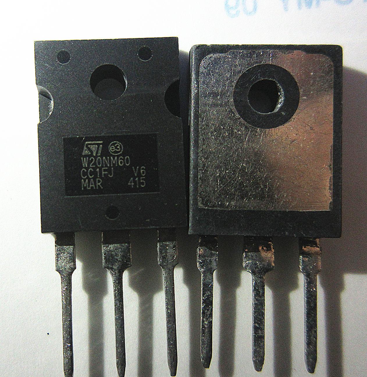 10pcs W20NM60 STW20NM60 20N60 20A600V Original Novo 1 ordem