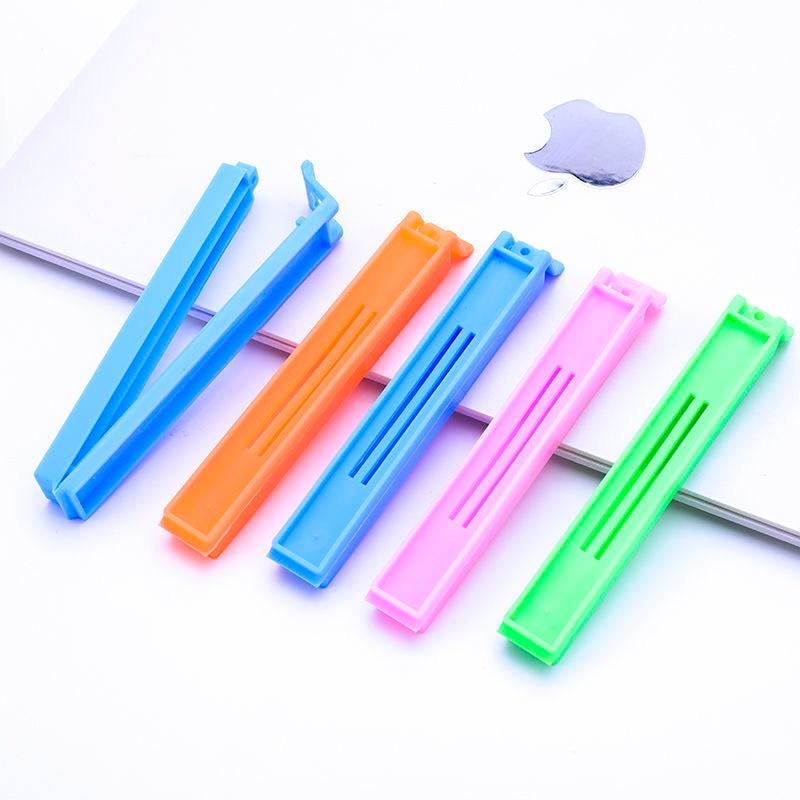 10Pcs Portable Kitchen Storage Food Snack Sealing Sealing Pocket Clip Sealing Pliers Plastic Tools Kitchen Accessories