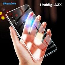 Для Umidigi A3X чехол Ультратонкий Прозрачный мягкий чехол из ТПУ чехол для Umidigi A3X Couqe Funda