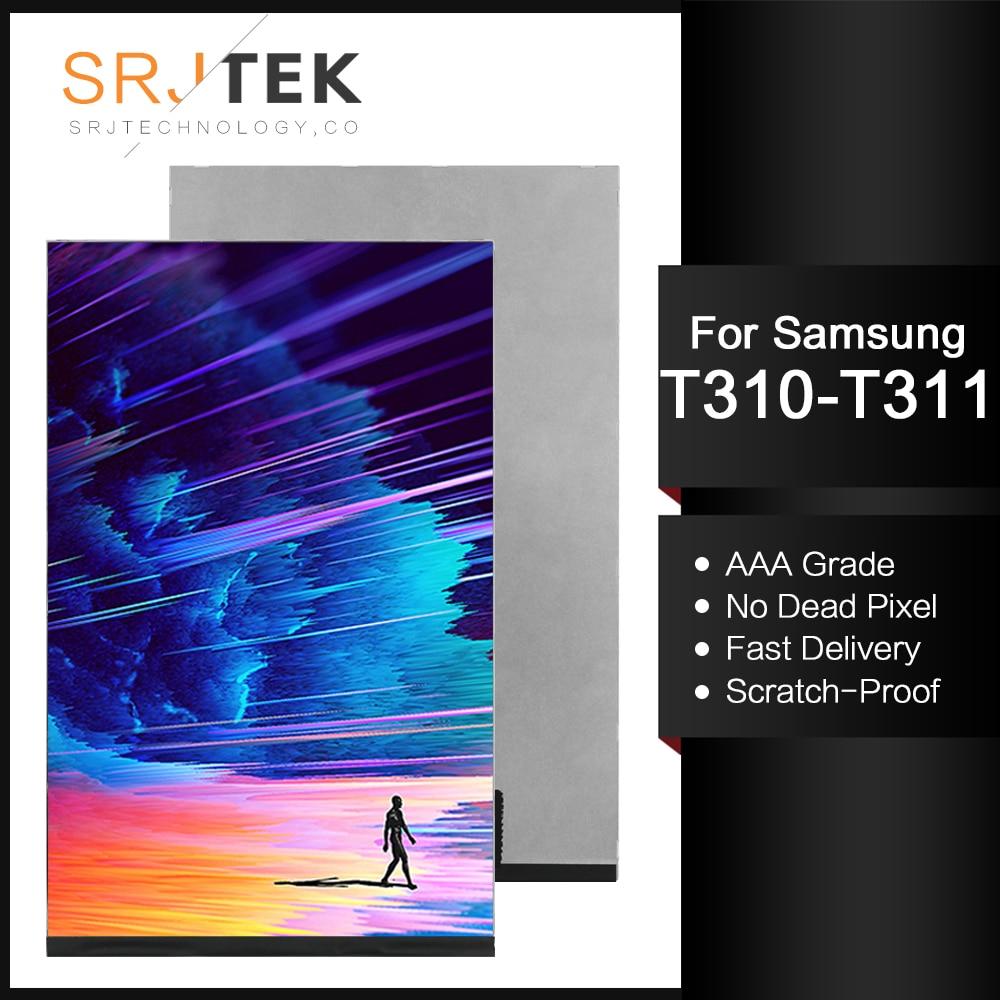 "Srjtek, 8 "", probado para Samsung Galaxy Tab 3 8,0 T310 T311 SM-T310 SM-T311, pantalla LCD Matrix, piezas de repuesto para Tablet PC"