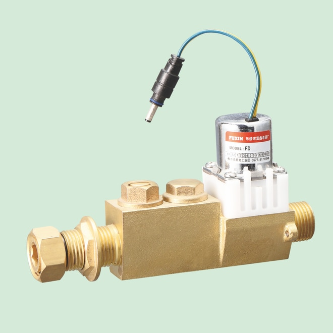 Flow Rate Control Valve Diaphragm Battery Powered Sanitary Solenoid Valve enlarge