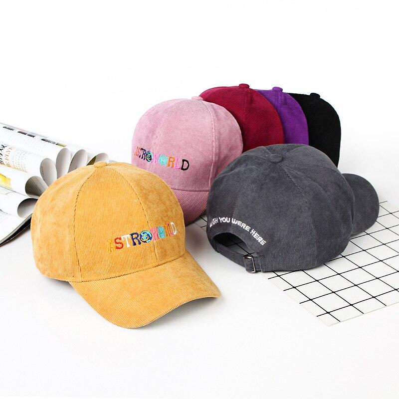 ASTROWORLD gorras de béisbol Unisex Astroworld papá sombrero gorra alta calidad bordado hombre mujeres verano sombrero Dropship
