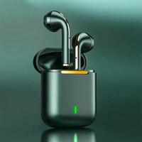 TWS Bluetooth-наушники Fone 5,0, беспроводные наушники с шумоподавлением, наушники-вкладыши J18, стереогарнитура, работающая 24 часа, с сенсорным управл...