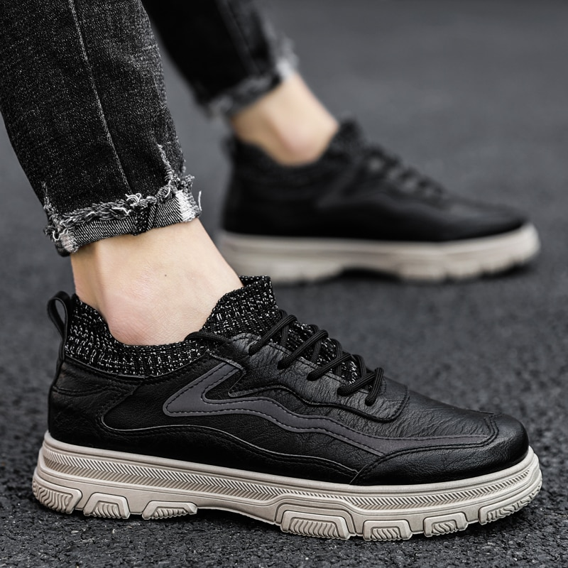 sneakers Casual platform home ANKLE vintage MEN summer timber ankle Winter casual man dress Mens men riding Sneaker winter army