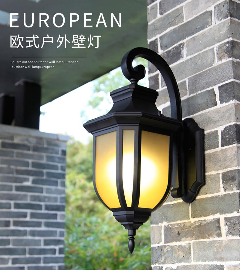 Industrial Vintage Creative Wall Lamp Outdoor Simple Retro Wall Light Street Waterproof Lampara De Pared Porch Lights Ed50dj enlarge